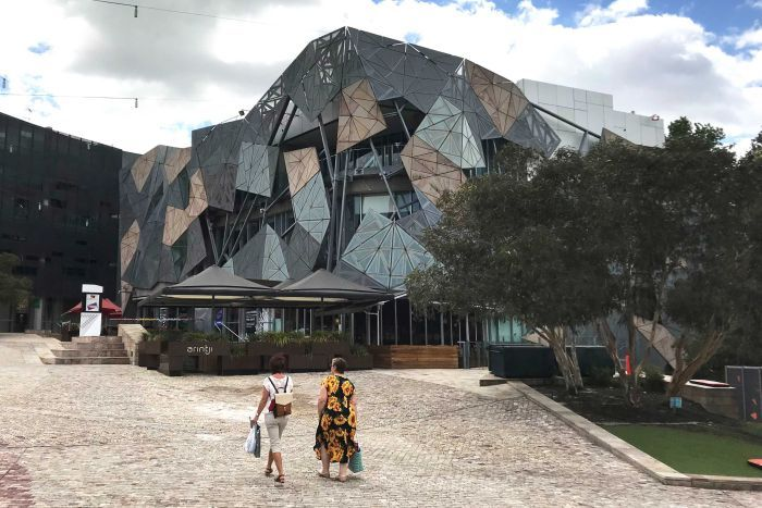 Federation Square's southern building.