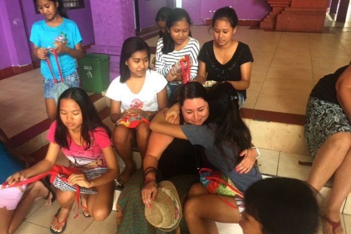 Days for Girls volunteer Nicole receives thanks in Indonesia
