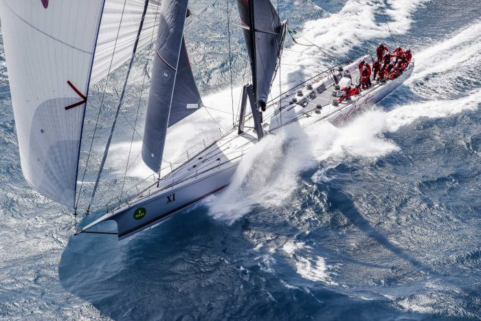 2017 Sydney to Hobart runner-up Wild Oats XI