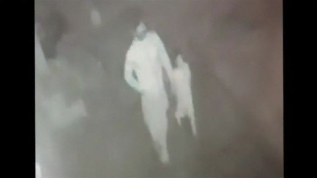 CCTV footage allegedly shows Zainab Ansari being led away to her death