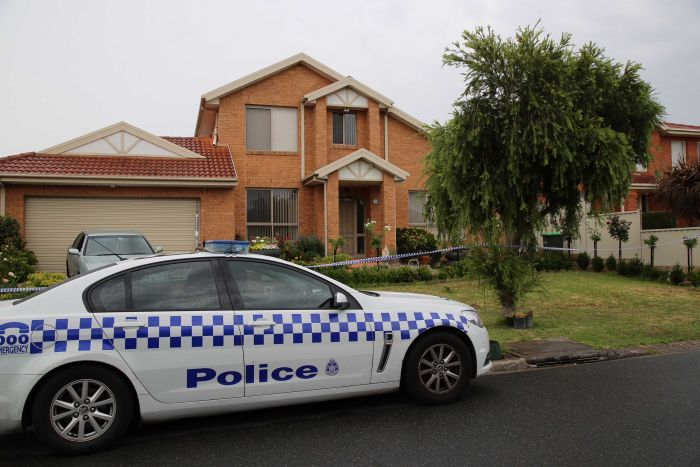 The  house on Callistemon Rise, Mill Park, in Melbourne's north, where the stabbing took place.