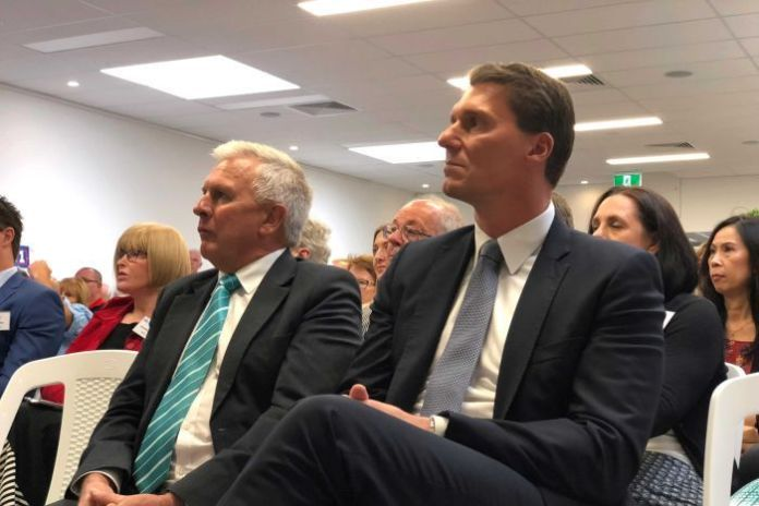 Australian Conservatives Robert Brokenshire and Cory Bernardi