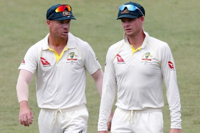 David Warner and Steve Smith