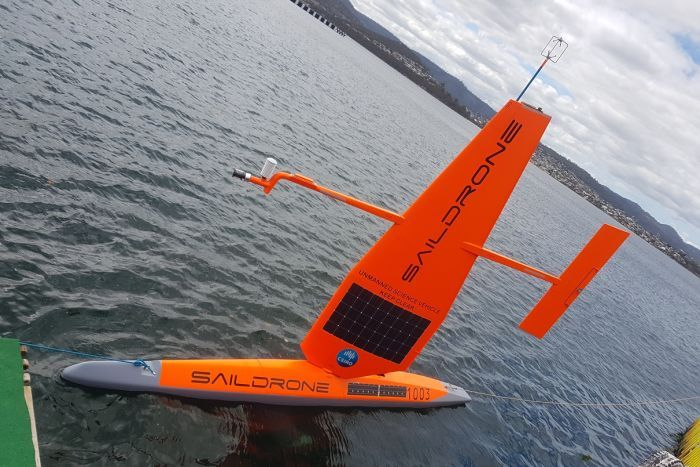 New CSIRO sail drones for ocean study