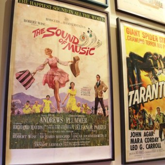 The poster for The Sound of Music.