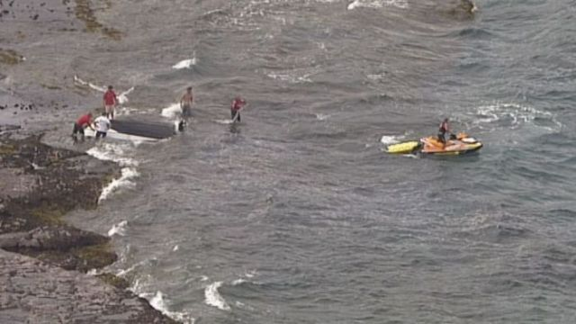 One man dead and two hospitalised after boat capsizes