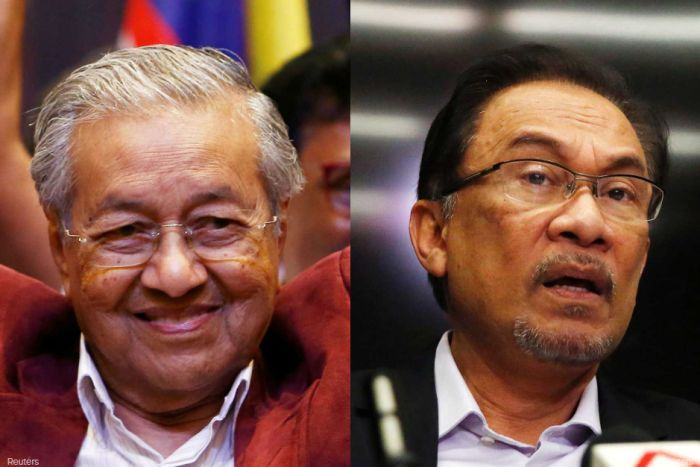 Image result for anwar ibrahim and mahathir relationship