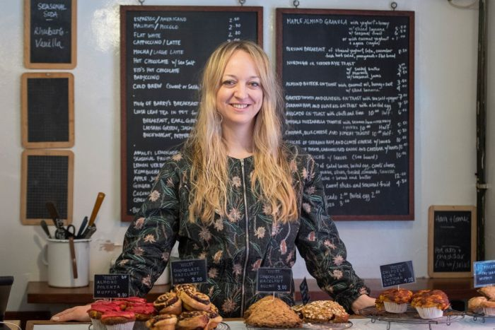 Pastry chef Claire Ptak