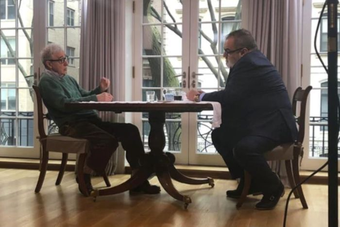 Woody Allen sits for interview with Argentinian TV show