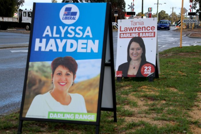 Early voting in the Darling Range byelection