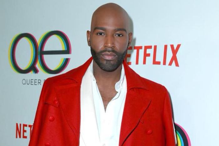 Karamo Brown at the Queer Eye premiere