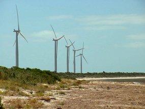 Wind turbines near Edithburgh SA