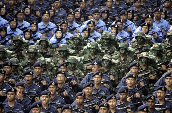 National Day parade, Malaysia