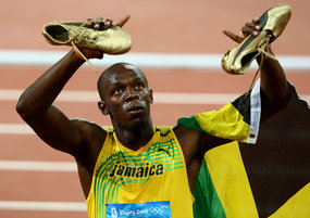 Usain Bolt ... nuggets and rest key to 100m gold