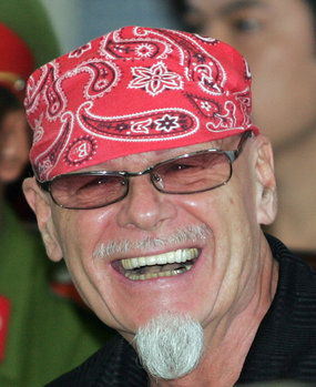Gary Glitter was released from a Vietnamese jail yesterday.