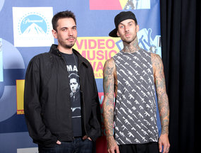 Travis and DJ AM.....pre-crash