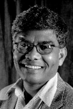 In custody: Professor Brij Lal was was involved in drafting Fiji's constitution in 1997.