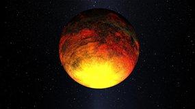 Artist concept of exoplanet Kepler 10b.