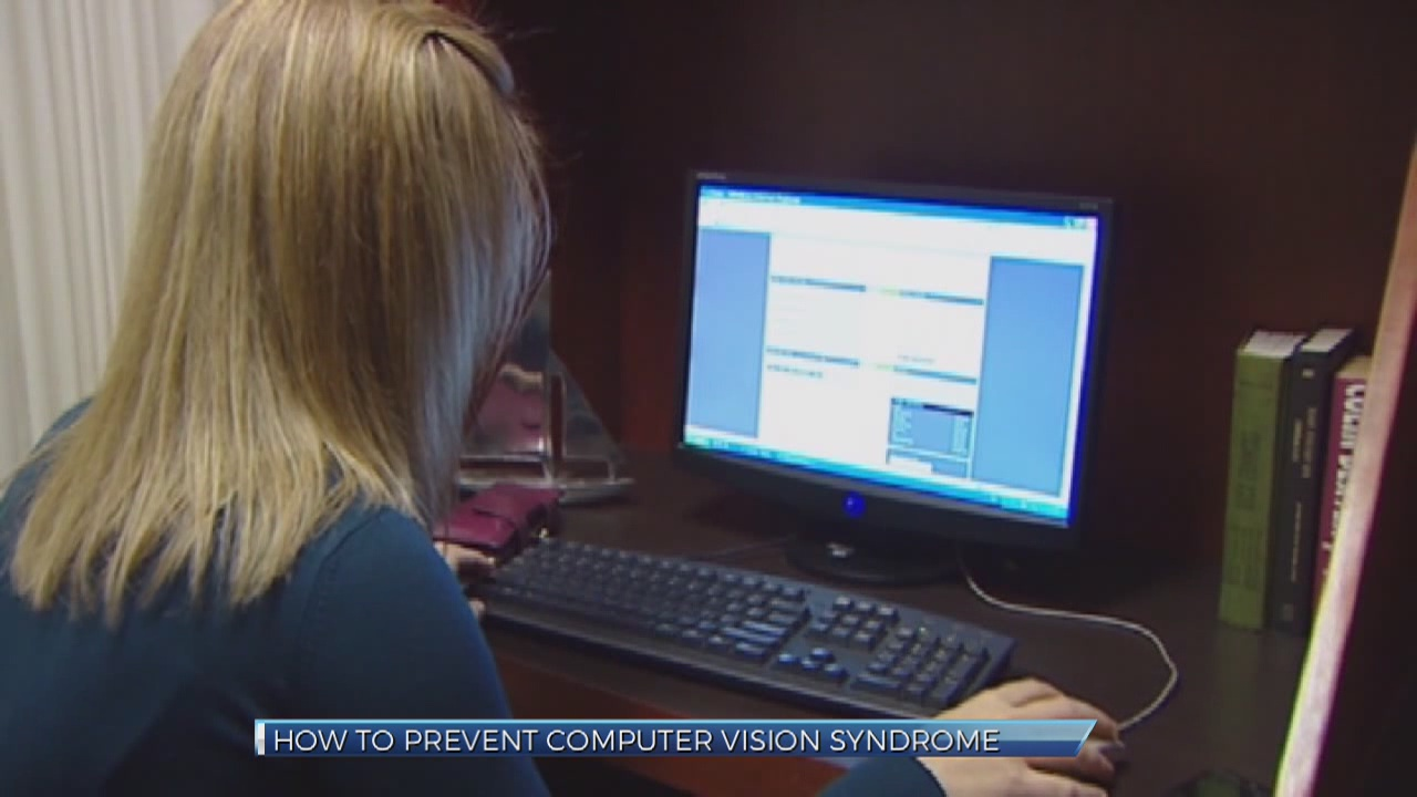 How optometrists say to avoid computer vision syndrome