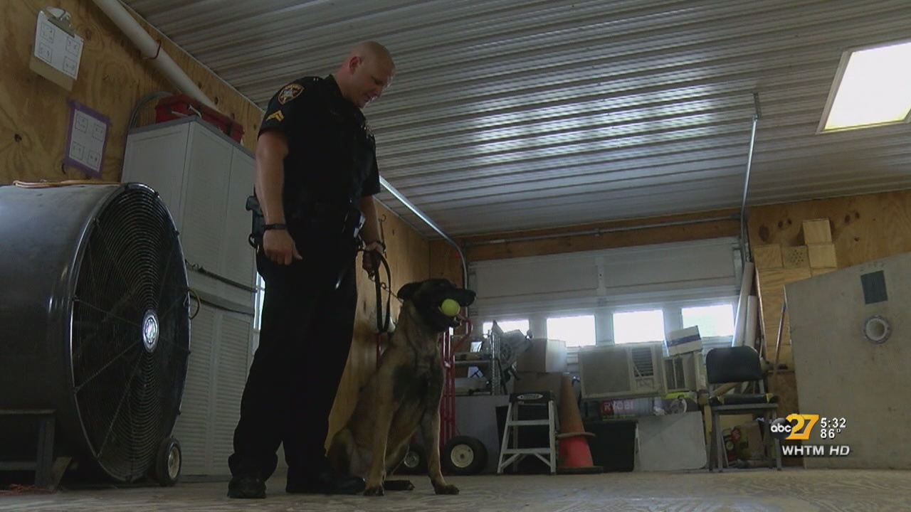 K9, trainer to take on drug epidemic