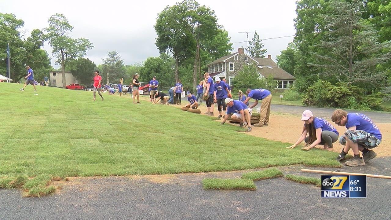 Volunteers build wounded veteran a custom, accessible home in Gettysburg