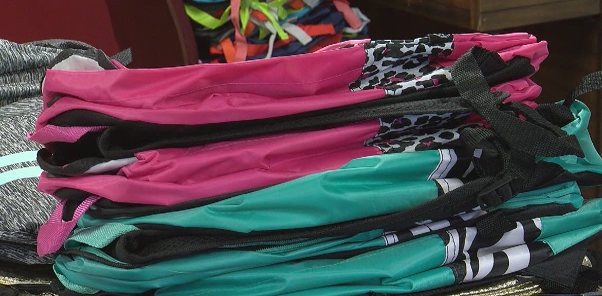 Church fills backpacks for back-to-school