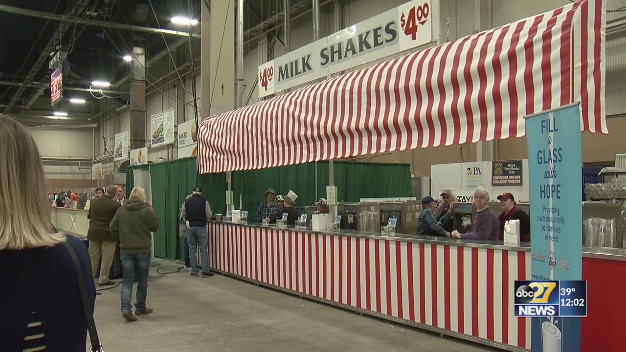 Farm Show food court opens at noon
