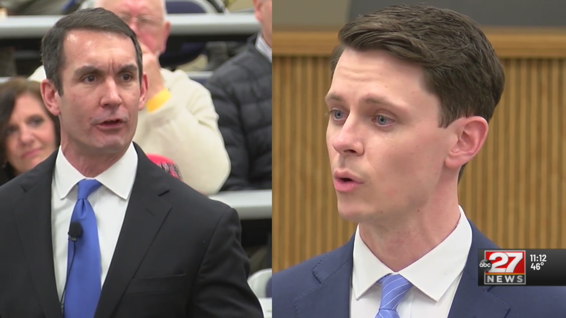 Brier and DePasquale face off in town hall debate