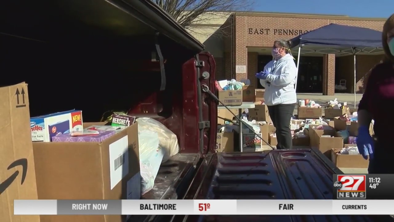 East Pennsboro PantherPack drive through food program