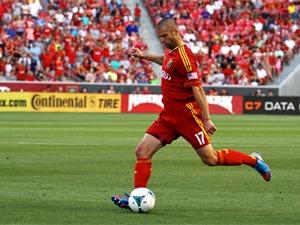 Real Salt Lake vs Philadelphia Union 7-3-2013. RSL ties Philly 2-2. Chris Wingert (17)_7926763583152606131