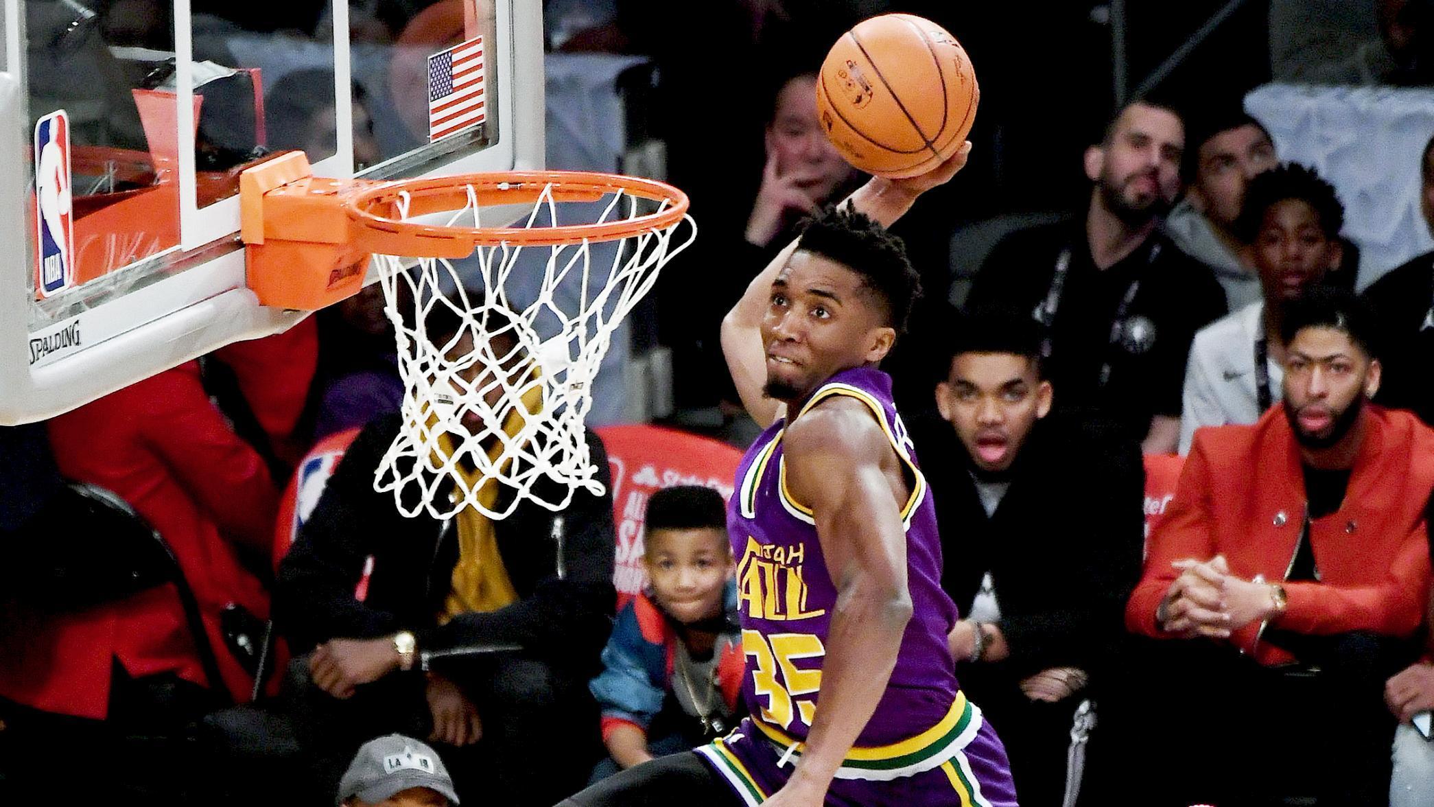 size 40 788e4 6a254 Donovan Mitchell wins NBA slam dunk contest