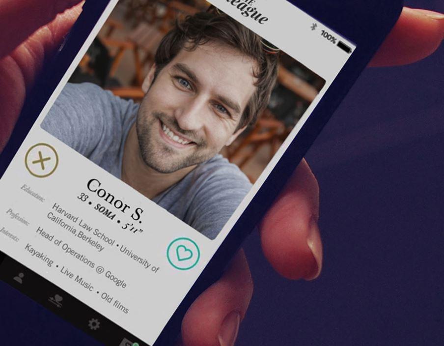 League dating app lancering