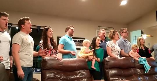lebarons family singing