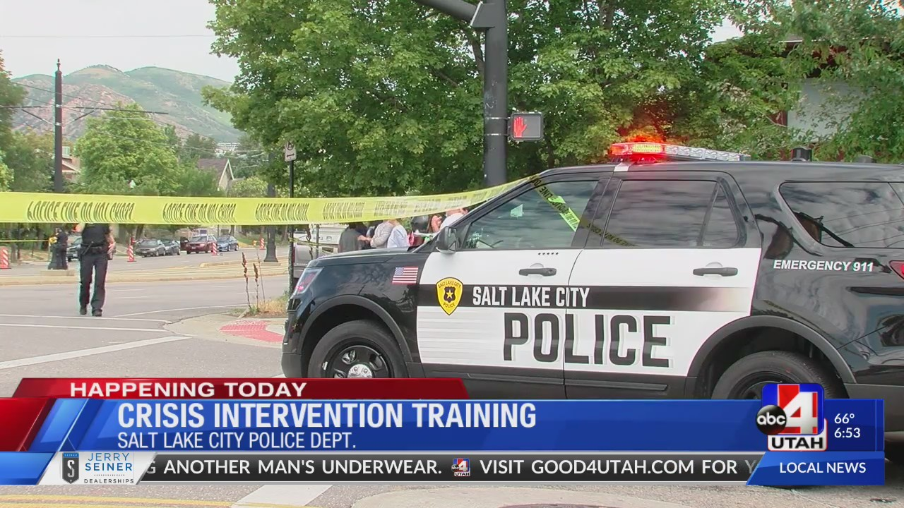 Why Police Need Training To Interact >> Utah Police Train To Interact With Citizens Who Experience Mental