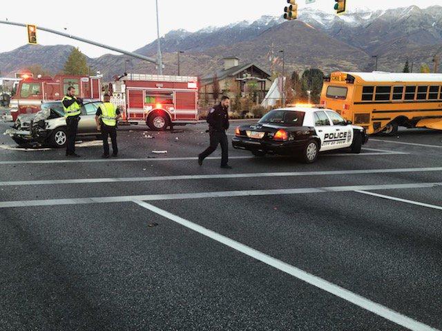 OREM SCHOOL BUS CRASH