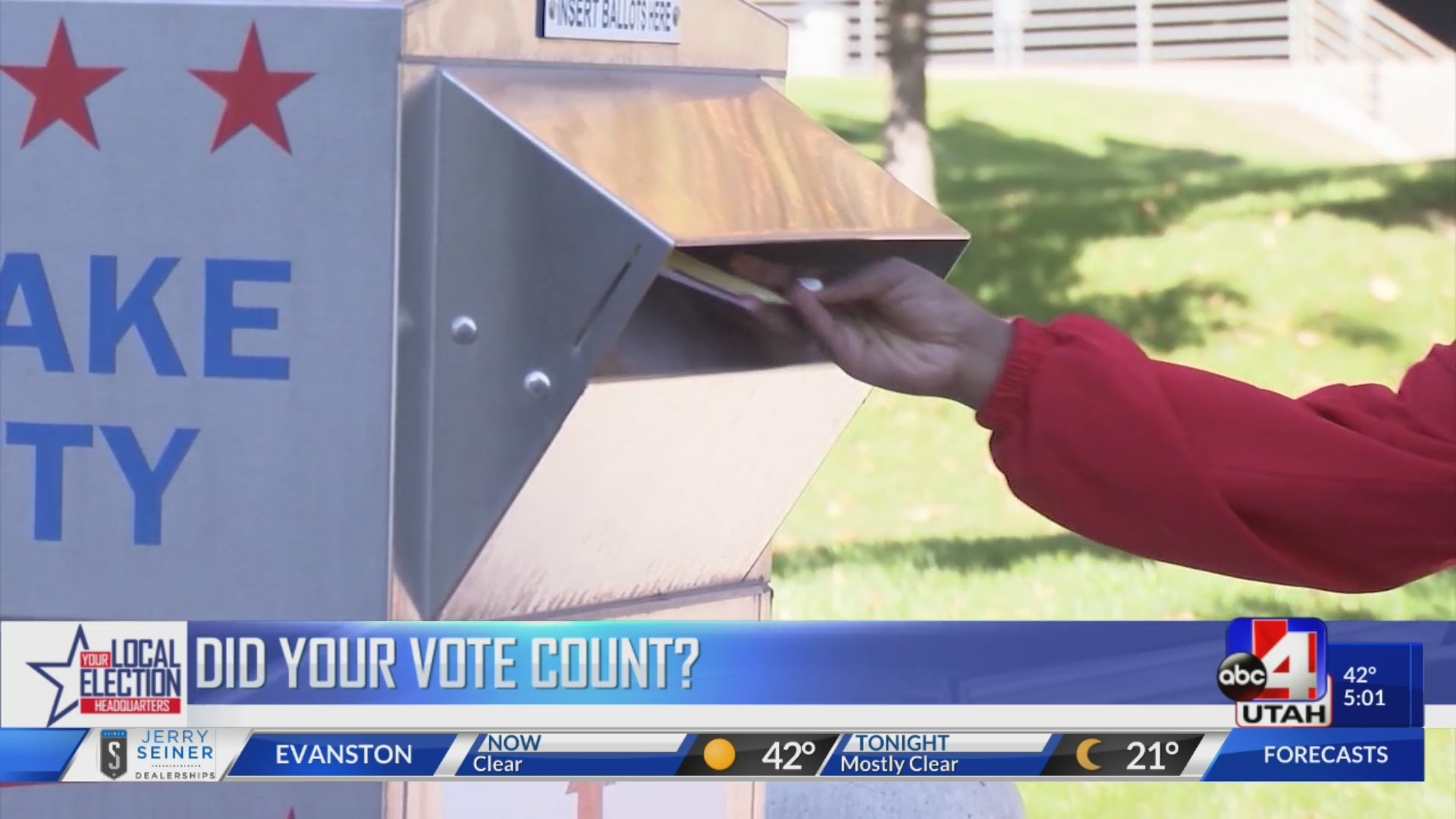 Did your vote count?