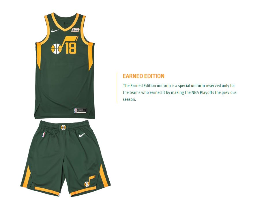 low priced 5ae1d a2e26 Utah Jazz to debut new uniform on Christmas Day