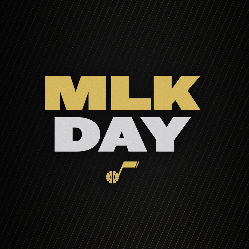 mlk day utah jazz