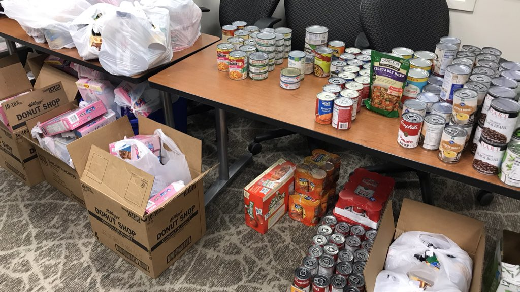 food donations for federal workers
