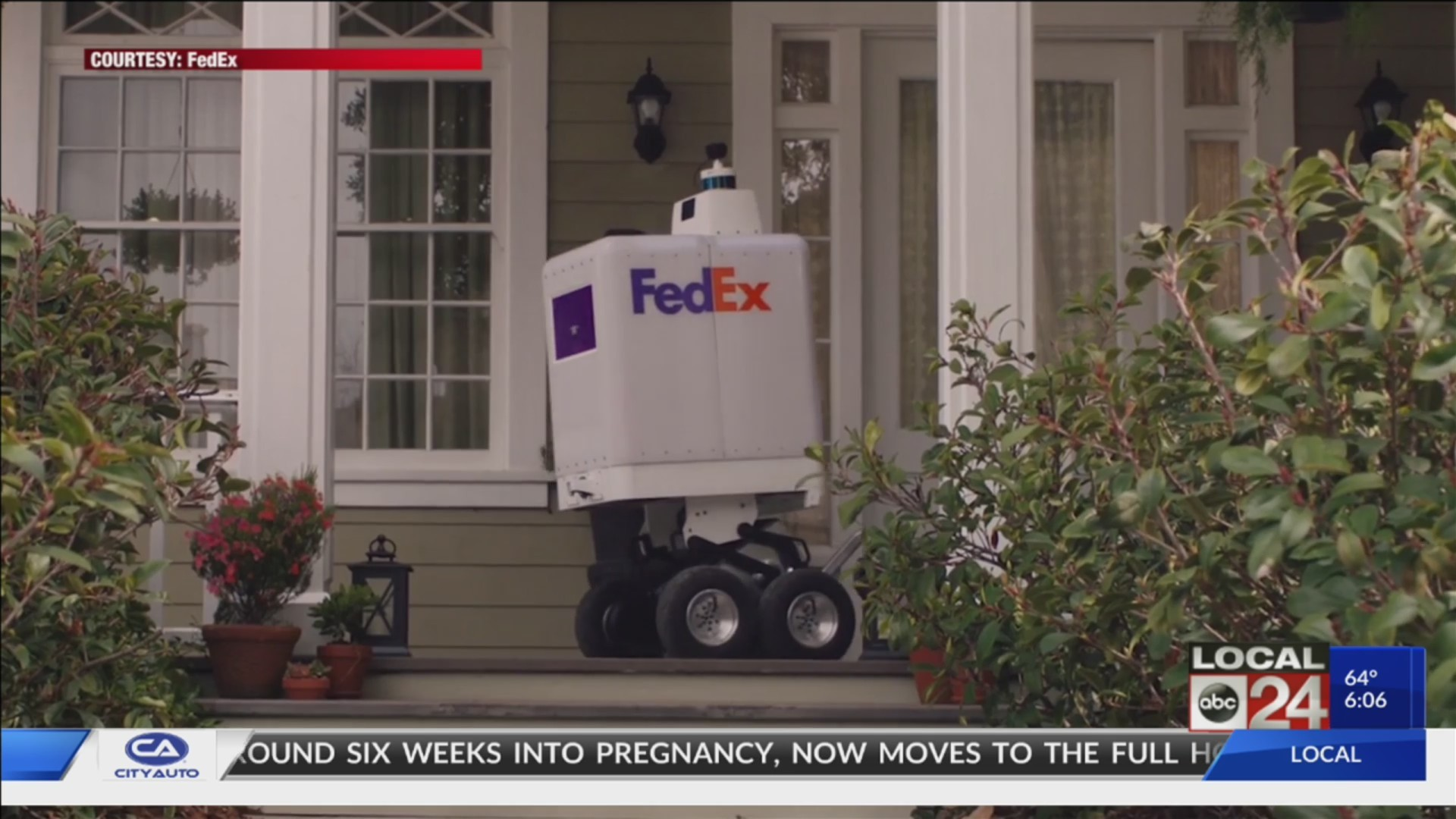 FedEx Rolls Out New Delivery Option - Robots - With SameDay