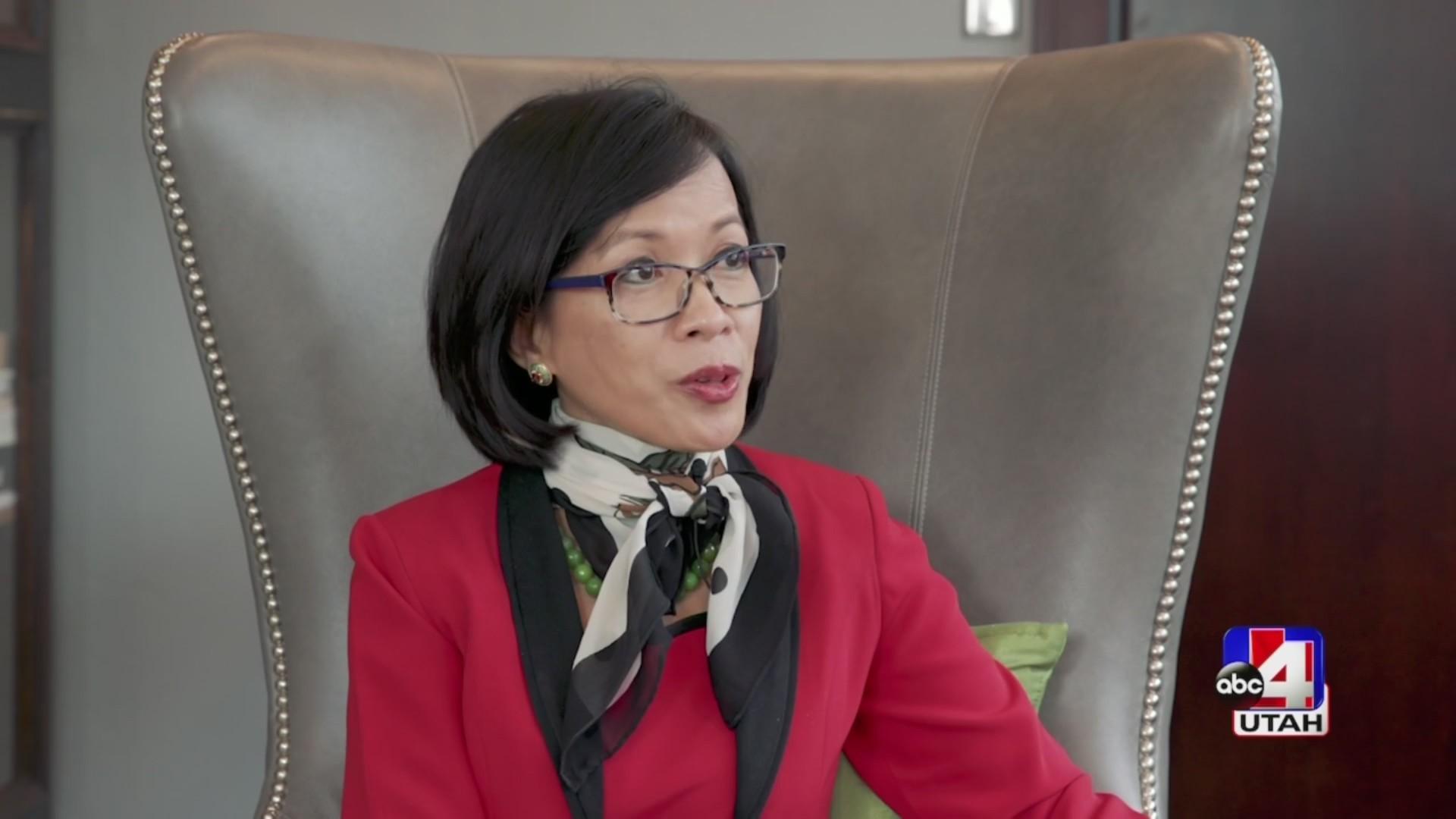 Celebrating Woman: UVU's first female president Dr. Astrid S. Tuminez