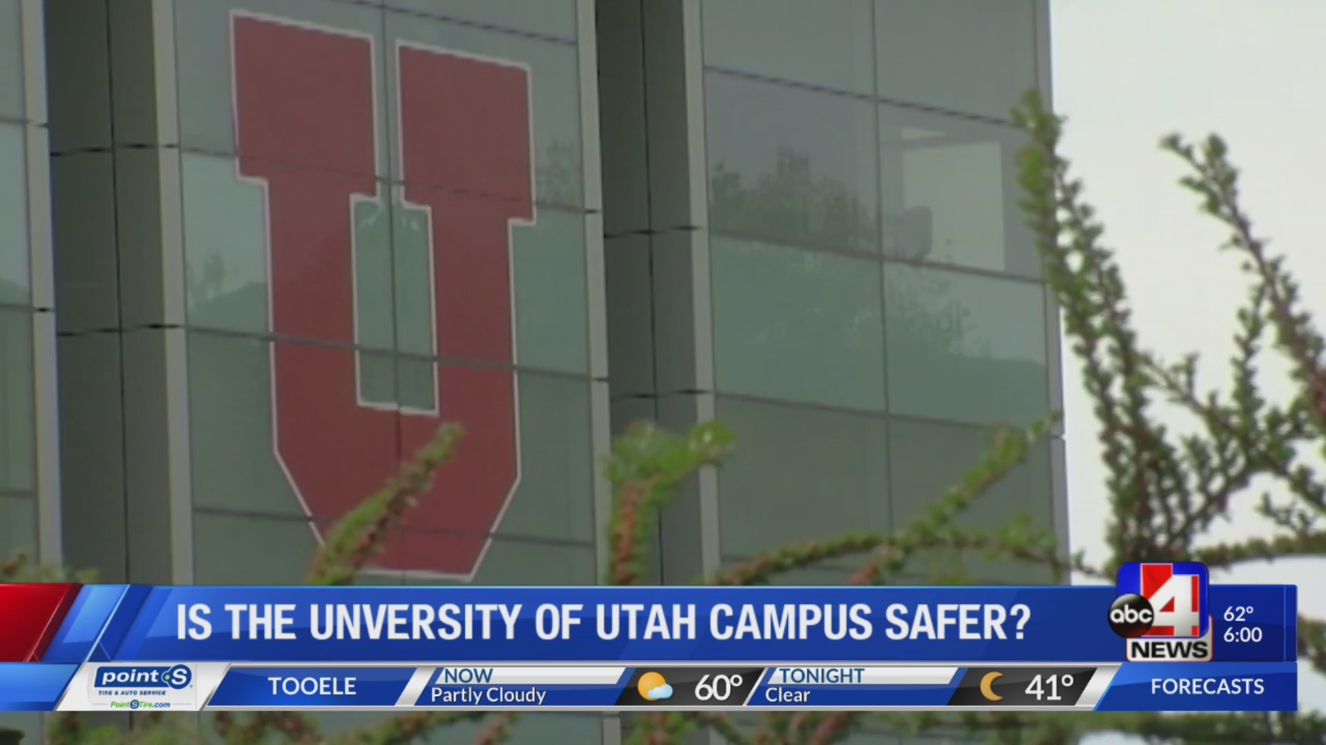 Review of campus safety at University of Utah