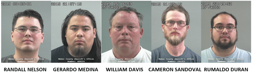 3d3e26fe2e Police: Five men arrested for enticing minors over the internet during  undercover sting