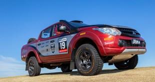 15fee8411 L200 Triton Sport R foi desenvolvida com base na picape de rua e está apta  a disputar provas nacionais e internacionais, como o Rally dos Sertões e  Rally ...