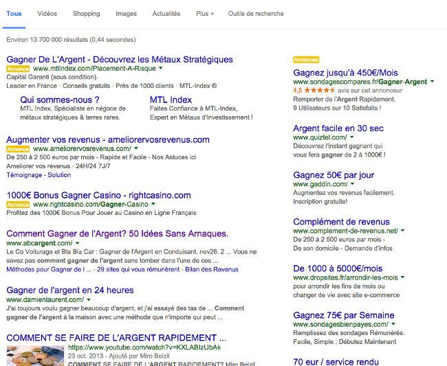 screenshot gagnerdelargent page 1 up