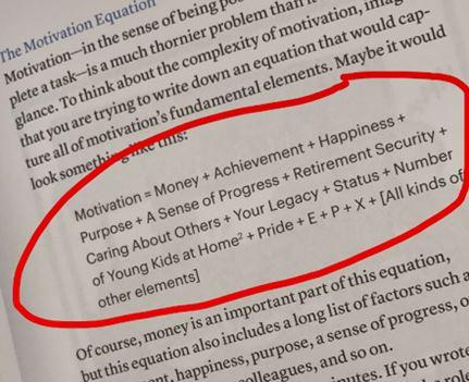 l'équation de la motivation dans l'indépendance financière