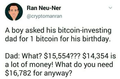 Le bitcoin comment ça marche avec cette blague