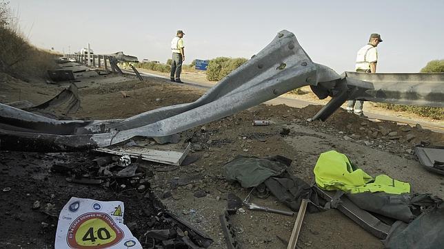 El número de muertos en carreteras de Sevilla se reduce a la mitad en cinco años