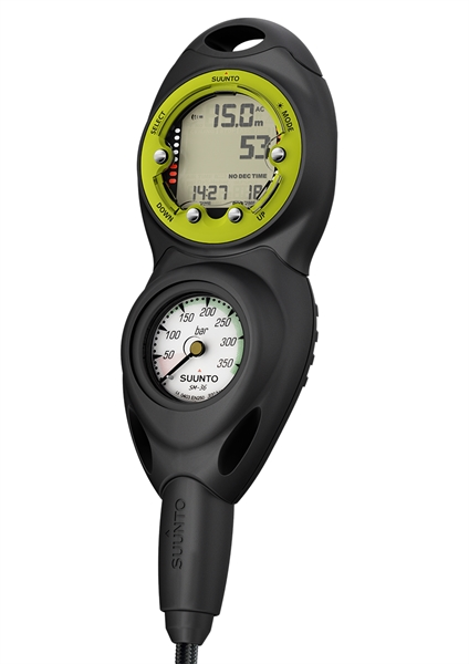 Suunto CB-Two in line/300/Zoop Novo Lime Combo