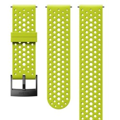 Suunto D5 Strap 24mm Athletic 1 Silicone Strap Kit D5 Lime/Black S+M